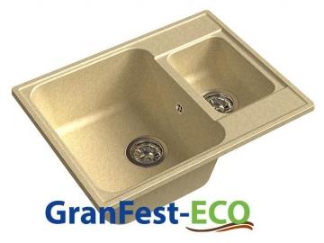 Кухонная мойка GranFest-ECO ECO-09