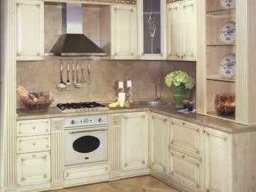 Кухня угловая 200 х 240см фасад рамочный мдф лакированный Вита ПП Кремона
