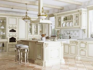 Кухня Артвуд из массива ясеня
